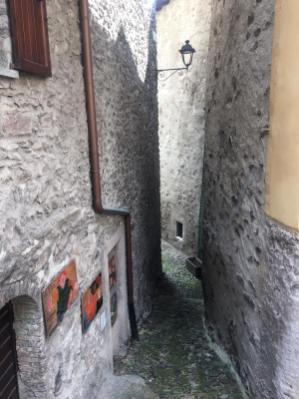 viuzza medievale a Gromo