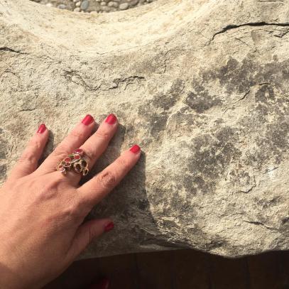 Pietra del muretto usata per affilare le falci