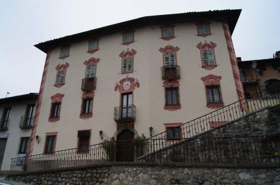 casa affrescata a Bracca