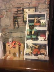 Il prodotti in vendita al Castelletto di Scanzorosciate