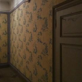 La tappezzeria di Villa Astori