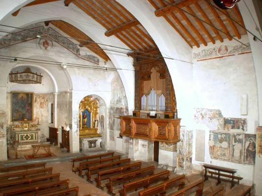 Navata centrale di San Pietro in Lamosa