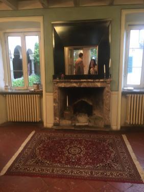 Sala per i banchetti a Villa Frizzoni