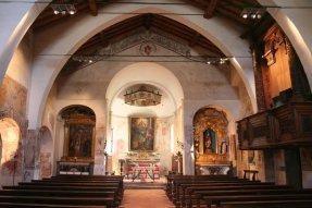San Pietro in Lamosa navata centrale