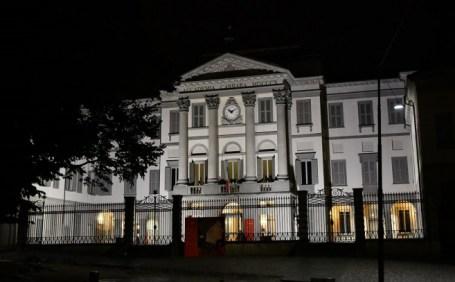 Accademia Carrara di notte
