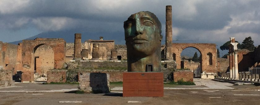 mitoraj a Pompei - Fondazione terzo Pilastro