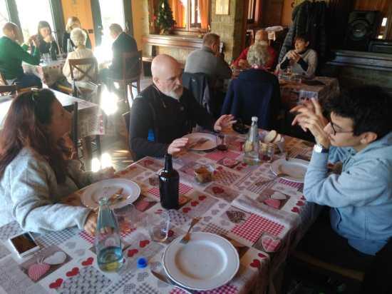 Pranzo durante il blog tour Quadrifoglio