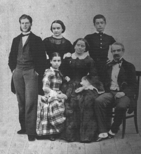 Famiglia di Mimì ed Ercole Oldofredi Tadini