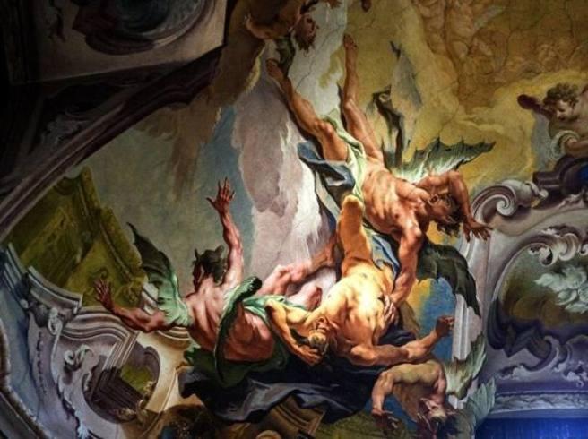 San Michele all'arco affreschi restaurati