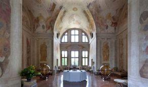 Globi del Coronelli nel Salone delle Feste della Villa Malcontenta