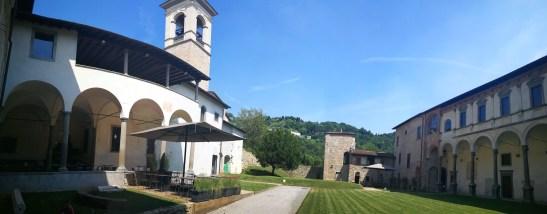 Il chiostro del Monastero d'Astino