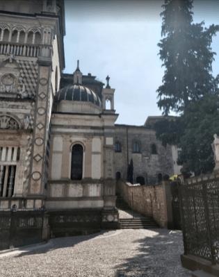 Posizione sala vescovile Bergamo
