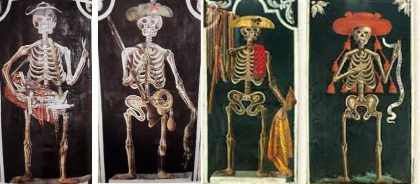 quadri scheletro di Gandino