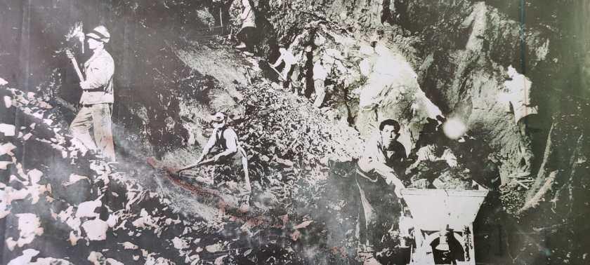 Minatori Schilpario negli anni Quaranta