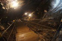 Miniere di Schilpario scendere al livello inferiore