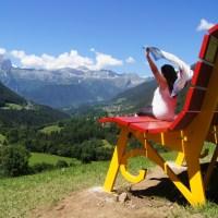 Gite fuori porta: alla Panchina Gigante di Schilpario (Bg) per ammirare il panorama magnifico della Val di Scalve
