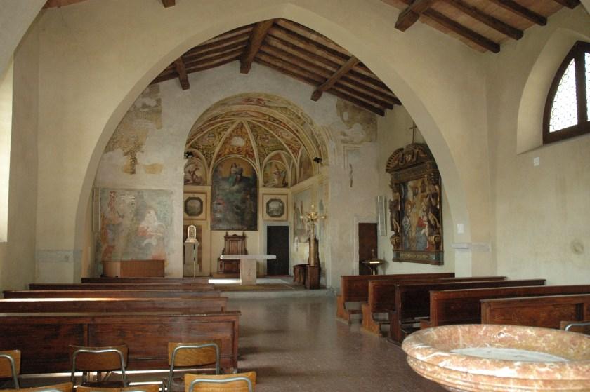 Interno Chiesa di San Vittore Brembate