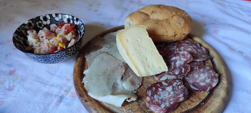 Salumi e formaggella della Val di Scalve