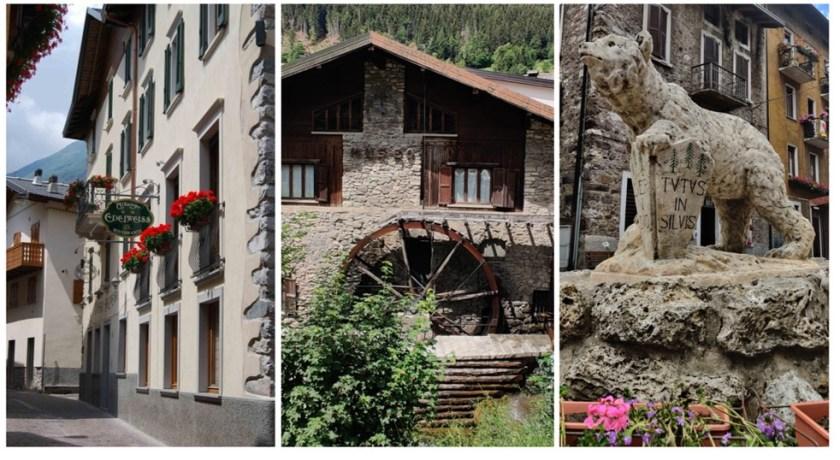 Hotel Ristorante Edelweiss e alcuni scorci di Schilpario