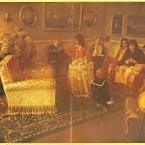 Servizio fotografico dei Pooh a Villa Mapelli Mozzi