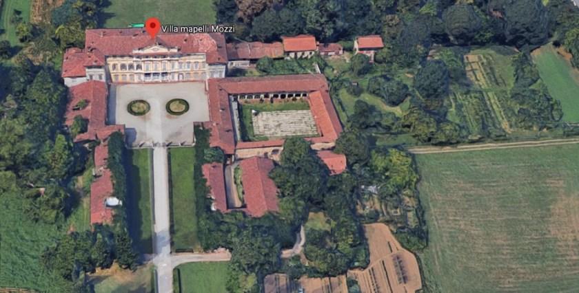 Visione dall'alto google maps