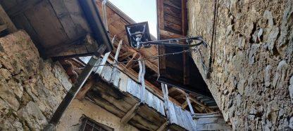 Architettura in legno nel borgo di Catremerio
