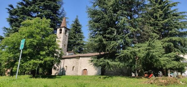 Chiesa romanica di San Pietro in Vincoli di Spinone (BG)