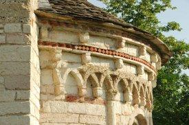 Decorazioni absidali Rotonda di San Tomè
