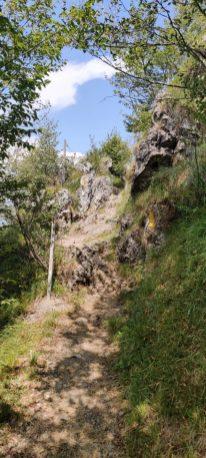 Salita verso la Croce sul Monte Zucco