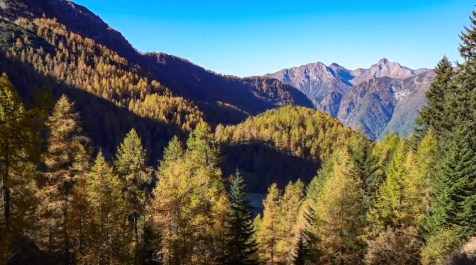 Alta Val Brembana in autunno