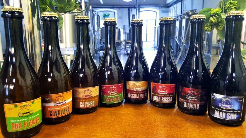 Bottiglie birre artigianali Birrificio Val Cavallina