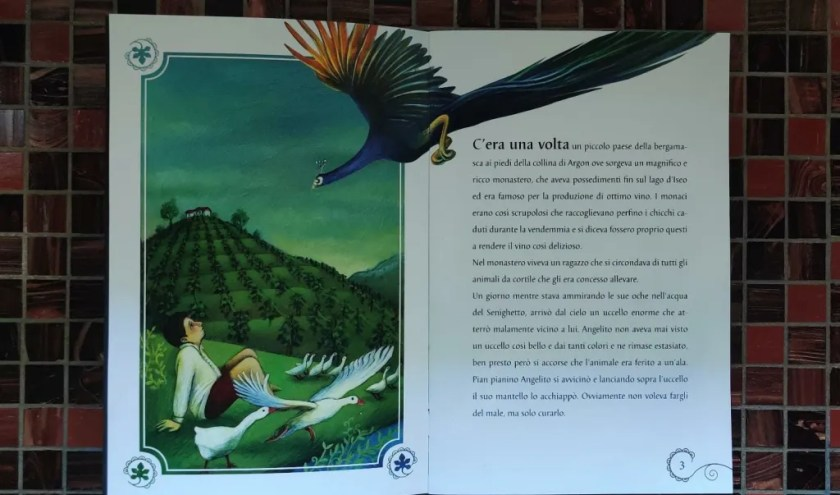 1 pagina fiaba Argo vini Pecis