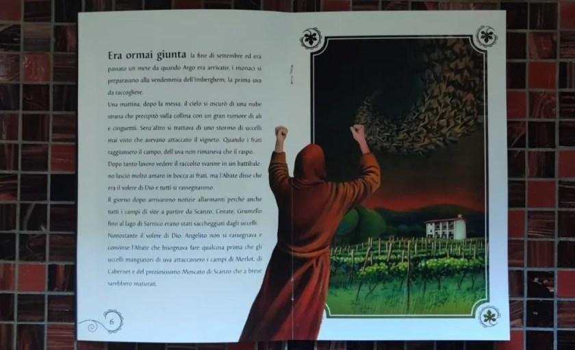 3 pagina fiaba Argo Vino Pecis