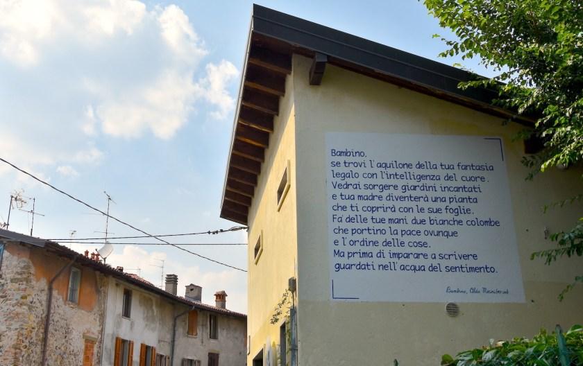 Carmina Muralia a Paladina - poesia Bambini di Alda Merini