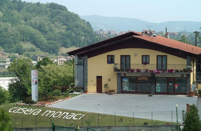 Casera Monaci vista dallalto