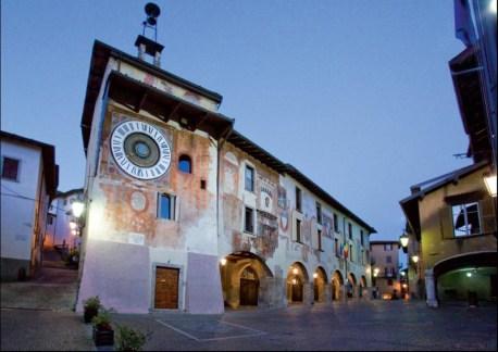 Orologio Fanzago piazza Clusone
