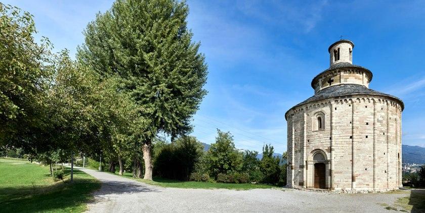 Baciare in provincia di Bergamo rotonda di san Tomè