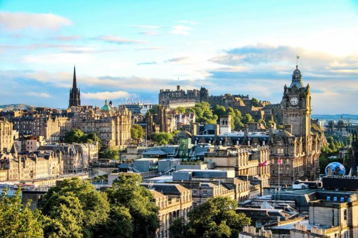 Edimburgo città su sette colli