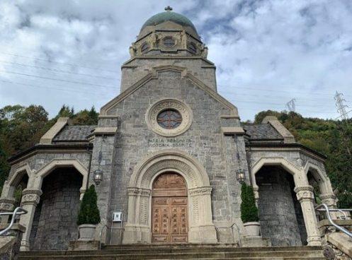 Tempio dei caduti di San Pellegrino facciata principale