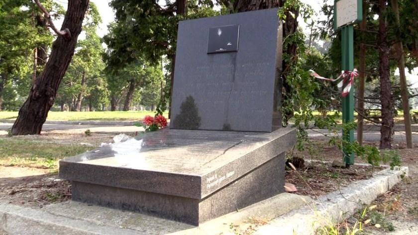 Monumento Evita Peron al Cimitero Musocco di Milano