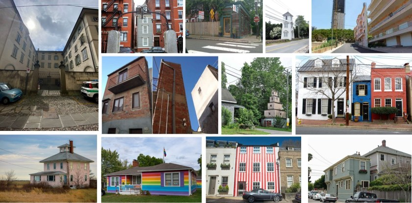case del dispetto nel mondo collage