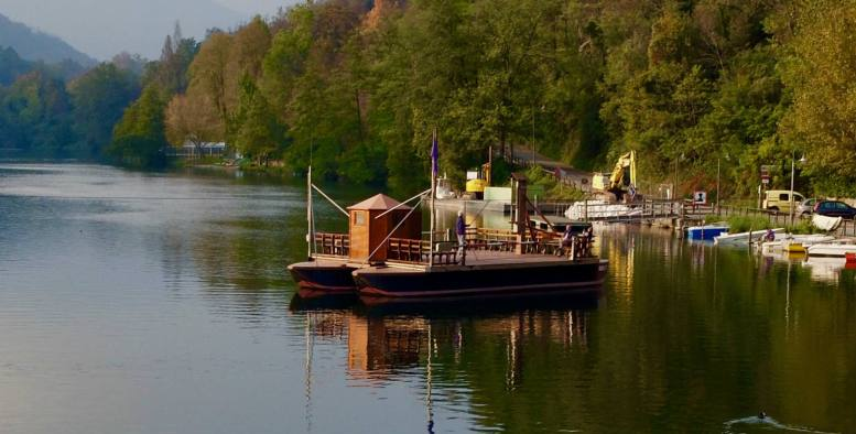 10 cose meravigliose sul fiume Adda: Traghetto di Leonardo