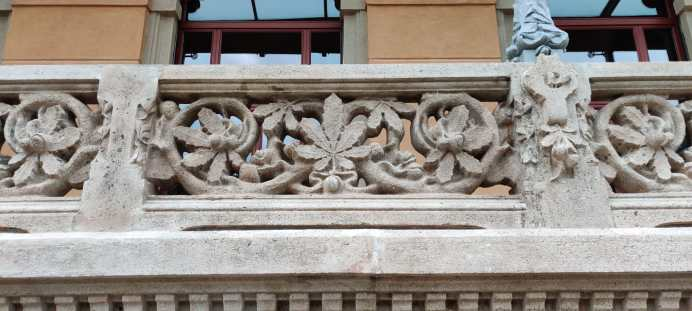 motivi floreali Liberty del Grand Hotel