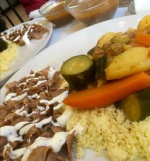 Ristoranti etnici a Bergamo Al Sultan ristorante palestinese piatto unico
