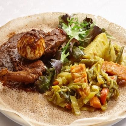 Ristoranti etnici a Bergamo Dalhak Ristorante eritreo piatto tipico 2