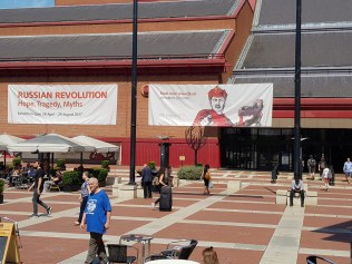 Conference attendees could also visit: Russian Revolution: Hope, Tragedy, Myths exhibition at the British Library