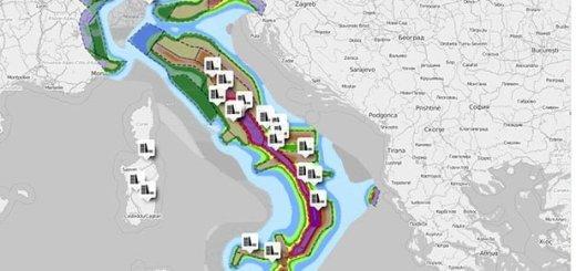 Le maggiori dighe d'Italia e aree di pericolosita sismica - Umap