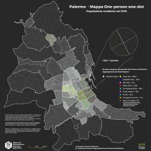 Popolazione residente Palermo 2018