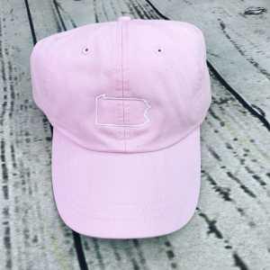 Pennsylvania baseball cap, Pennsylvania baseball hat, Pennsylvania hat, Pennsylvania cap, State of Pennsylvania, Personalized cap, Custom baseball cap