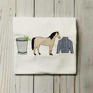 Horse derby quick stitch embroidery design, Kentucky derby, Horse embroidery design, Mint julep, Jockey shirt, Horse racing, Vintage stitch embroidery design, Applique, Machine embroidery design, Blanket stitch, Beanstitch, Vintage